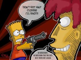 Simpsons: Pull The Trigger by MagicMikki
