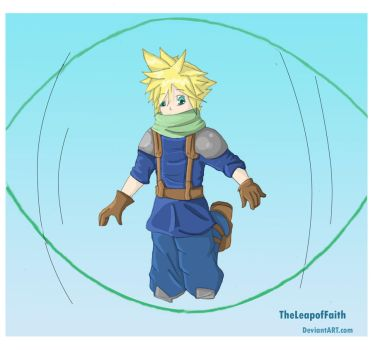 Cloud Works Out... by TheLeapofFaith