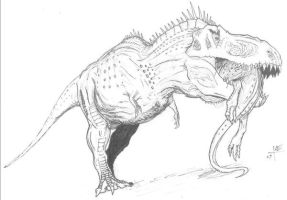 Giganotosaurus coloring pages for Carcharodontosaurus coloring page
