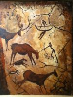 Cave Painting by superahmazingnes