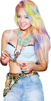 Hyoyeon SNSD render by classicluv