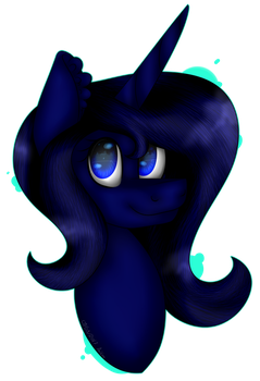 MLP ~ Midnight Shadow [COMMISSION] by Aritina