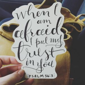 Psalm 56:3 by sailorjessi
