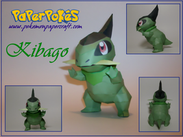 Axew Papercraft by Skeleman