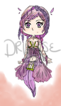 Wisteria Adoptable [ Open points or paypal] by DriRose