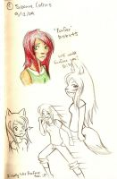 THG- Foxface Sketches by oofuchibioo