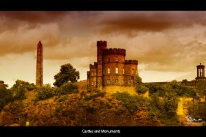 castles and monuments by archonGX