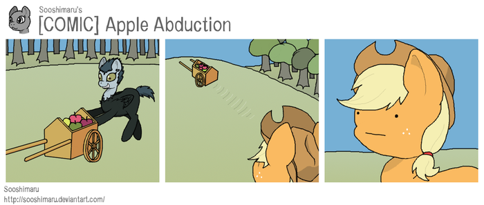 [COMIC] Apple Abduction by Sooshimaru