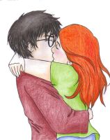 Harry and Ginny by BrerBunny13