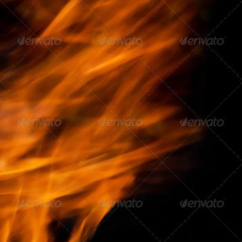 Fire Abstract by tdubic