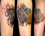 Second Tattoo Colored by YouwithoutMe