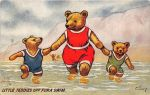 Little Teddies Off For a Swim by Yesterdays-Paper