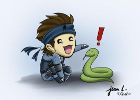 MGS2: Snake and Snake by WithSkechers