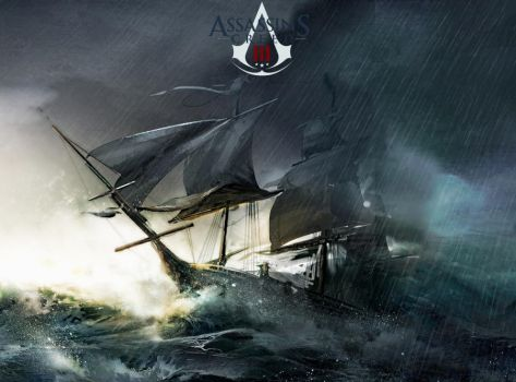 Assassin's Creed 3 Storm by lacedemonio