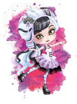 .:Ever After High:. Chibi Duchess Swan (comission) by Airinreika
