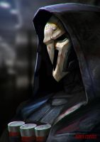 Reaper(overwatch) by DanteCyberMan