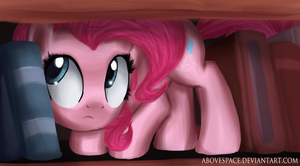 Pinkie on the shelf by AboveSpace