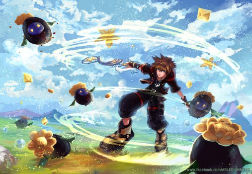 Kingdom Hearts 3 by ElinTan