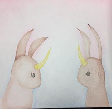 rabbits by emmylovee