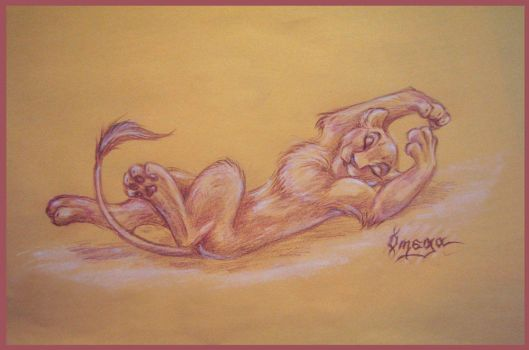 Random lioness by OmegaLioness