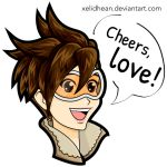 Tracer Overwatch by Xelidhean