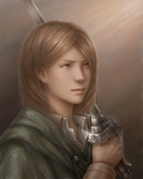 Petra Ral - Attack on Titan by JxbP