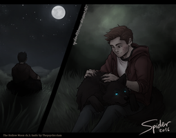The Hollow Moon ch3- Wolf by spider999now