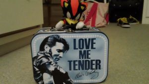 Shadow and the Elvis Lunchbox by MsLunarUmbreon