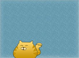 Cute Cat Blob by surlana