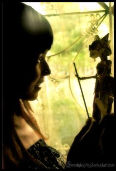 Wayang by indonesia