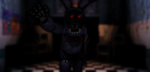 FNAF1 Styled! Withered Bonnie by Zacmariozero