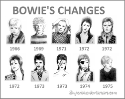 Bowie's Changes by skylenblue