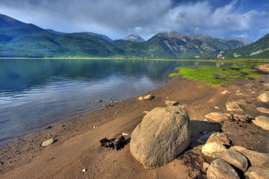Twin Lakes Colorado by abstractxposure