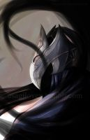 Artorias Consumed by the Abyss by UsagiLovex