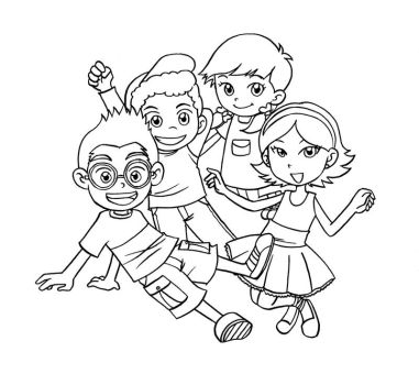 fireside girls coloring pages | #littleeinsteins | Explore littleeinsteins on DeviantArt