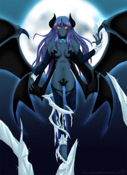 Demon Within by Blue--Rosa