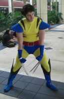 Wolverine Cosplay by dookieshed