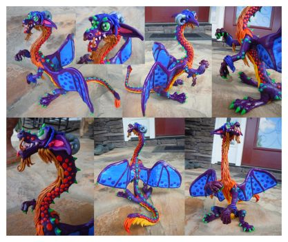 Jerald the Colorful Dragon by roymbrog