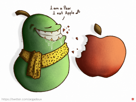 Apple-Pear by Argadeux