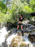 Lara Croft is exploring by TanyaCroft