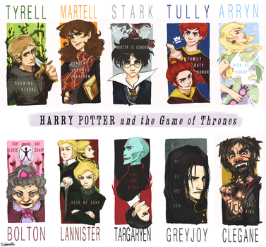 Harry Potter and the Game of Thrones by shorelle