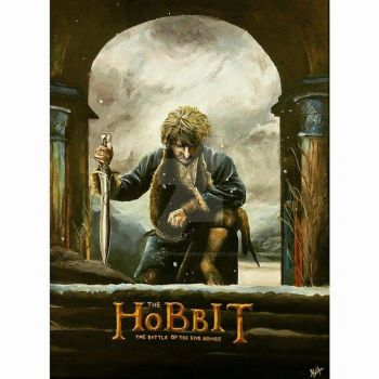 The Hobbit - The battle of the five armies by aeroscythel