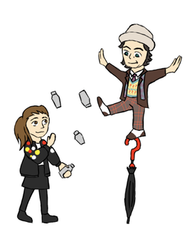 Doctor Who - Circus Act by PrincessHannah
