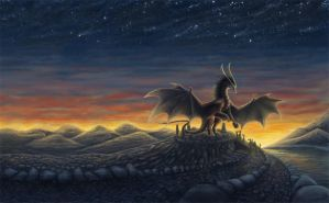Collab_Shadows of wings 2 by NerielMi