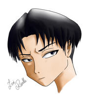 Levi Rivaille by amyrose7