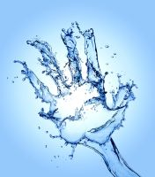Water Hand by Santi90