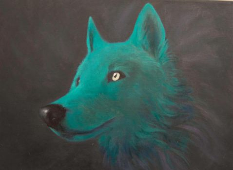 Ghost Wolf by Boosue