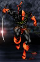 Deathstroke THE TERMINATOR by Jake-Townsend
