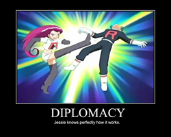 Diplomacy Motivational Poster by ShadowMeowth