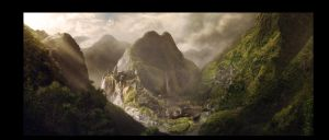Fortress in the Valley by GordonTarpley